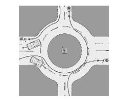 Imagen Bici y circulación rotondas