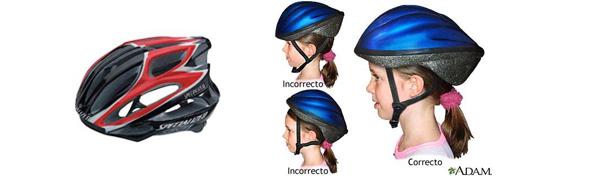 Imagen cascos bicicleta
